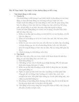 Bài 38: Thực hành: Vận hành và bảo dưỡng động cơ đốt trong.