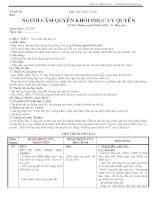 Giáo án Ngữ văn 11(nâng cao tuần 29)