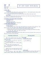 Bài 37: Axit- Bazơ- Muối