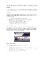 Hướng dẫn sử dụng phần mềm Bảo vệ trẻ em khi dùng Internet
