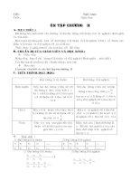 Giáo án Đại số 7 học kì II