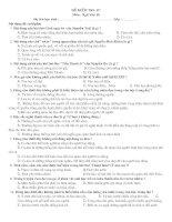 Đề kt15''-Ngữ văn 10-HKII(4 đề)