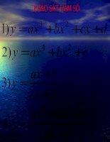 bài 5 : Khảo sát sự biến thiên và vẽ đồ thị của hàm số