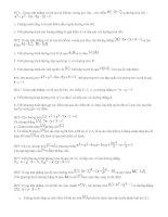 Tổng hợp các bài tập về đường tròn