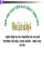 Bai: Quang Trung dai pha Quan Thanh