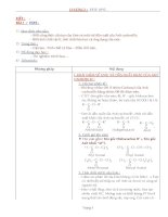Bài giảng Hóa 12 - Bài 1 (GV soạn thêm phần làm việc với HS)