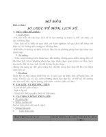 Giáo án Lịch Sử 6