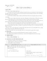 GIẢI TÍCH 12- ÔN TẬP C1