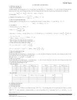 Bài tập giới hạn (Lí thuyết+BT mẫu)
