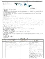 Giáo án Ngữ văn 11 (Nâng cao tuần 25)