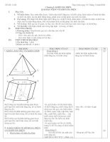 Giáo án Hình học 12 chương I(Ban cơ bản)