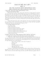 GIÁO ÁN THỂ DỤC 7 CHUẨN(CẢ NĂM)