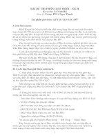 Bài thuyết trình (Giới thiệu sách)