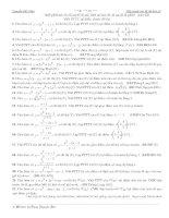 Các bài toán tiếp tuyến
