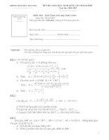 De thi HSG MTBT - L9 - 05-06(Co dap an)