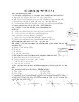 Ôn tập Vật lý 9