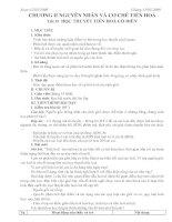 Tiết 35 Học thuyết tiến hoá cổ điển