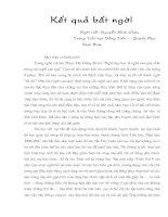 Bài dự thi Viết về tình huống giáo dục đạo đức học sinh
