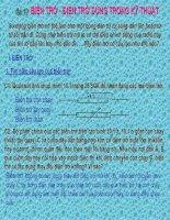 Bài 10: Biến trở. Điện trở dùng trong kỹ thuật