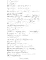 bài tập tiếp tuyến hàm số