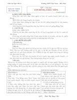 Giáo án Ngữ văn 6 cả năm (3 cột)