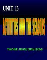 Unit 13 grade 6