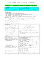 Giáo án Hình học 8 (tuần 30 đến 35)