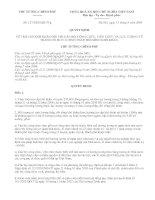 Quyết định của TTCP-Tin vui voi các GV hệ số lương từ 3,0 trở xuống