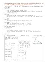 Giáo án Hình học 10 (tiết 23-26)