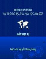 Bài 6: Thực hành: Đọc, phân tích lược đồ, phân bố dân cư và các thành phố lớn ở Châu Á