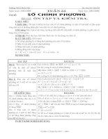 Chuyên đề: Số chính phương