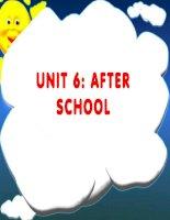 Grade 7 _ Unit 6