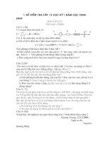 đề thi học kỳ 1 lớp 12