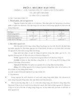 Câu hỏi và bài tập trắc nghiệm - LTDH