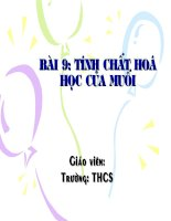 Tinh chat hoa hoc cua muoi.ppt