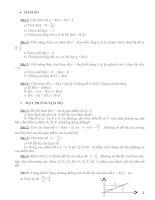 Bài tập nâng cao Đại số 7 chương III và  IV