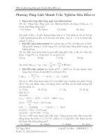 phương pháp giải toán trắc nghiệm hữu cơ 12