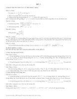 Thêm 2 đề ôn thi Đại học 09