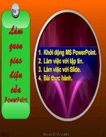 Hướng dẫn sử dụng Powerpoint - Thiết kế bài giảng điện tử 2