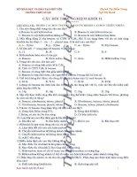 chuyên đế (1) hóa hữu cơ 11(soạn theo chuyên đề-có đáp án)-tiếp theo