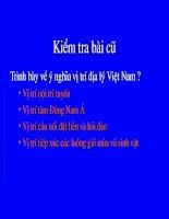 T37.Đặc điểm khí hậu Việt Nam