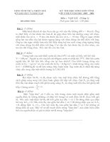 ĐỀ HSG HUẾ VÒNG 1 05-06