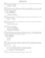 Câu hỏi trắc nghiệm ôn tâp 12 cơ, điện quang (dạng McMIX)