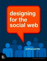 designing for the the social web