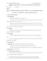 Giáo án Lịch sử 7