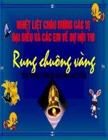 rung chuong vang
