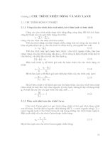 Bài tập kỹ thuật nhiệt