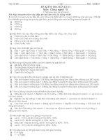 Đề thi công nghệ 10 mã 2