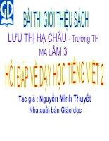 """Bài dự thi """"Hội thi thư viện Giỏi Huyện Hàm Thuận Bắc"""""""