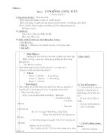 G/A Ngữ văn lớp 6(Tuần 1 chi tiết)